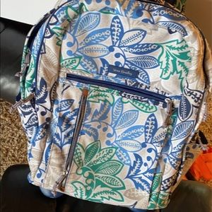 Vera Bradley backpack on wheels